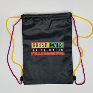 Bruno Mars XXIVK Magic World Tour Drawstring Bag